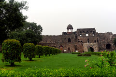 Oud fort Delhi Royalty-vrije Stock Foto