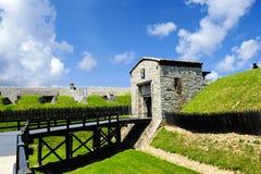 Oud Fort Niagara, New York Stock Foto