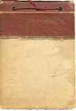 Oud fotoalbum Royalty-vrije Stock Afbeelding