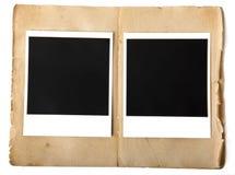 Oud fotoframe Stock Foto