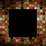 Oud fotoframe Royalty-vrije Stock Afbeeldingen