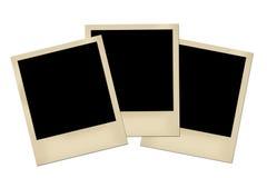Oud fotoframe Royalty-vrije Stock Fotografie