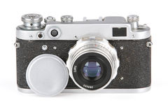 Oud Fotografisch Apparaat, Fotokamera Stock Foto's
