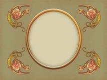 Oud frame vector illustratie