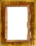 Oud frame voor foto of uitnodigingen Stock Fotografie
