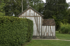 Oud Frans huis Royalty-vrije Stock Foto's