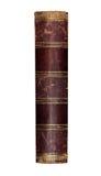 Oud geïsoleerd boek Stock Foto's