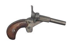Oud geïsoleerd zakpistool Royalty-vrije Stock Foto's