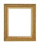 Oud geïsoleerdt stijl houten frame Royalty-vrije Stock Foto
