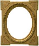 Oud geïsoleerdw Frame Royalty-vrije Stock Afbeelding