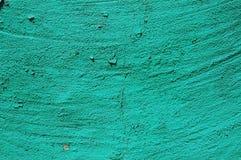 Oud gebarsten verfpatroon op concrete achtergrond De verf van de schil Royalty-vrije Stock Afbeelding
