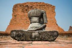 Oud gebroken standbeeld Royalty-vrije Stock Afbeelding