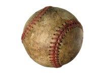 Oud gebruikt honkbal Royalty-vrije Stock Afbeeldingen