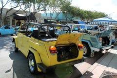 Oud geel Ding Stock Foto