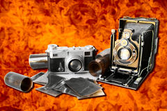 Oud geheugen royalty-vrije stock fotografie
