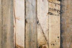 Oud gekrast en rustiek houten muurpaneel royalty-vrije stock foto