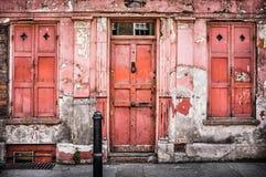 Oud Georgisch Huis Stock Fotografie
