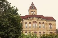 Oud gerechtsgebouw in Carrollton, Greene-Provincie Stock Afbeeldingen