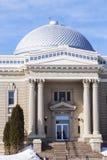 Oud gerechtsgebouw in Hillsboro, Montgomery County Royalty-vrije Stock Afbeelding
