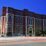 Oud gerechtsgebouw in Uitdagendheid royalty-vrije stock afbeeldingen