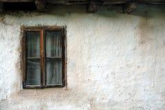 Oud geruïneerd huis Royalty-vrije Stock Afbeeldingen