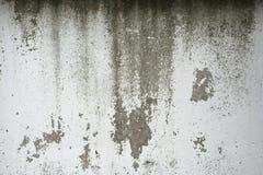 Oud geschilderd beton met overdrukplaatje royalty-vrije stock fotografie