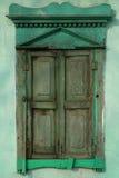 Oud Gesloten venster stock afbeeldingen