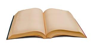 Oud geïsoleerd boek Royalty-vrije Stock Fotografie