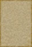 Oud gevouwen document Royalty-vrije Stock Fotografie
