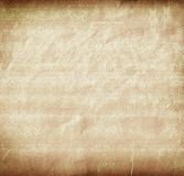 Oud gevouwen document Stock Afbeelding