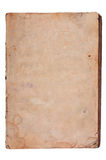 Oud geweven document met vervallen rand. Royalty-vrije Stock Afbeelding
