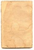 Oud geweven document met vervallen rand. Royalty-vrije Stock Fotografie