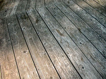 Oud geweven hout Stock Afbeelding
