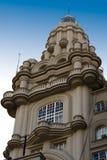 Oud gezicht van Buenos aires, Palacio Barolo Stock Foto