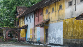 Oud Ginger Fabric Fort Kochi (Kochin, Kerala, Zuid-India - December 2015) Stock Fotografie