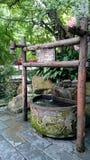 Oud goed in Han-dynastiestijl, in chengdu, China, Stock Afbeeldingen