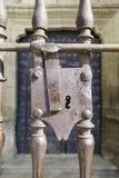Oud Gotisch slot stock afbeeldingen