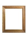 Oud gouden frame stock fotografie