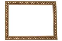 Oud Gouden Frame Stock Foto's