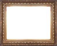 Oud gouden frame Royalty-vrije Stock Fotografie