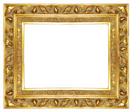 Oud gouden frame royalty-vrije stock foto's