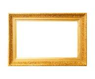 Oud gouden kader Stock Afbeeldingen