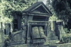 Oud graf Stock Afbeelding