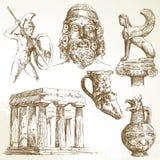 Oud Griekenland Stock Foto's