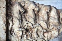 Oud Grieks beeldhouwwerk stock foto