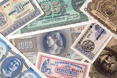 Oud Grieks geld, een achtergrond Royalty-vrije Stock Fotografie
