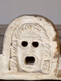 Oud Grieks masker Royalty-vrije Stock Foto