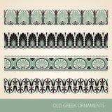 Grieks ornament stock illustratie