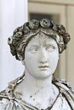 Oud Grieks standbeeld Stock Afbeeldingen