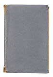 Oud grijs leerboek Stock Fotografie